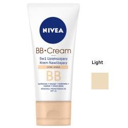 NIVEA BB Cream, 5w1 - upiększający krem nawilżający, cera jasna, SPF 10, poj. 50 ml