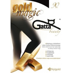 Gold Magic - rajstopy damskie 3D 90 DEN