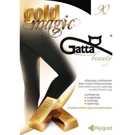 Gold Magic - rajstopy damskie 3D 90 DEN