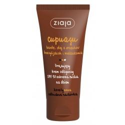 Cupuaçu - brązujący krem odżywczy SPF 10 ochrona niska na dzień, poj. 50 ml.