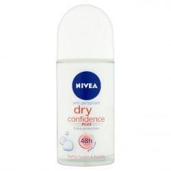 NIVEA Dry Confidence - antyperspirant w kulce dla kobiet, poj. 50 ml