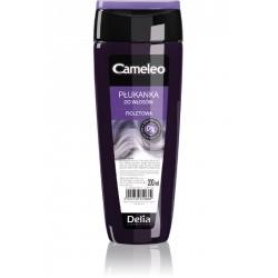 """Delia CAMELEO - płukanka do włosów fioletowa - efekt """"anty-żółty"""", poj. 200 ml"""