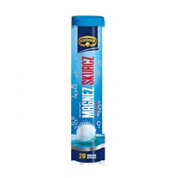 Kruger Magnez Skurcz - tabletki musujące o smaku cytrynowym, 20 szt.