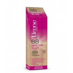 Lirene BB Master Blur - matujący krem BB z kwasem hialuronowym - 01 beżowy, poj. 40 ml