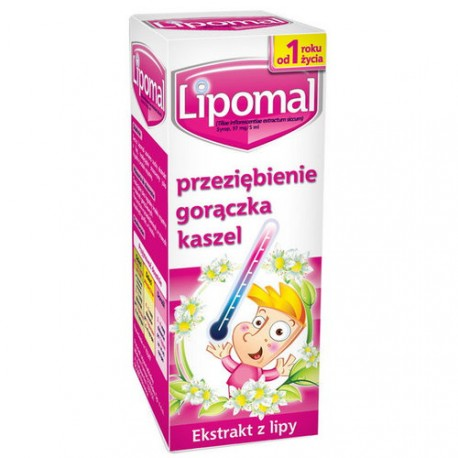 Lipomal - syrop, poj. 125 g
