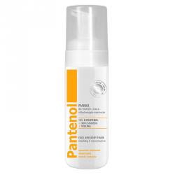 PANTENOL Med - pianka do twarzy i ciała odbudowująco-naprawcza, poj. 150 ml