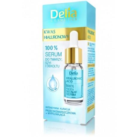 Delia - serum do twarzy - kwas hialuronowy, poj. 10 ml