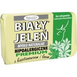 Biały Jeleń - hipoalergiczne mydło naturalne PREMIUM z kasztanowcem, poj. 100 g