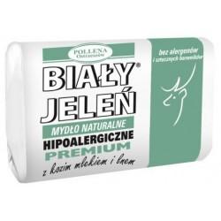 Biały Jeleń - hipoalergiczne mydło naturalne PREMIUM z kozim mlekiem, poj. 100 g