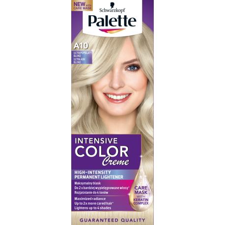 Palette Intensive Color Creme - krem koloryzujący, A10 Ultrapopielaty Blond