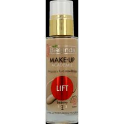 MAKE-UP ACADEMIE - Liftingujący fluid nawilżający LIFT odcień beżowy, poj. 30 ml.