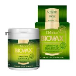 Biovax Bambus & Olej Avocado - intensywnie regenerująca maseczka do włosów, poj. 250 ml