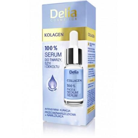 Delia Kolagen - serum 100% do twarzy, szyi i dekoltu, poj. 10 ml