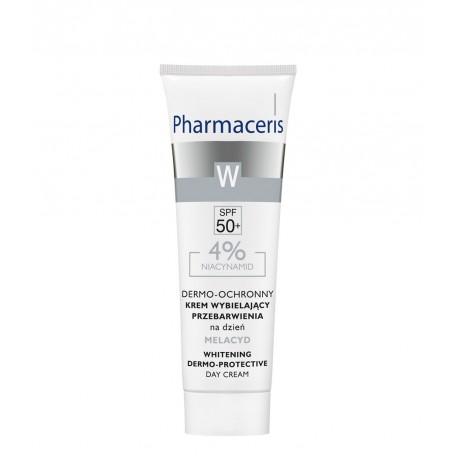 Pharmaceris W - dermo-ochronny krem wybielający przebarwienia na dzień MELACYD SPF 50+, poj. 30 ml