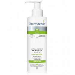 Pharmaceris T, Trądzik - antybakteryjny żel myjący T do twarzy PURI-SEBOGEL, poj. 190 ml