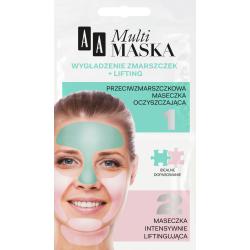AA Multi Maska - wygładzenie zmarszczek + lifting, poj. 10 ml