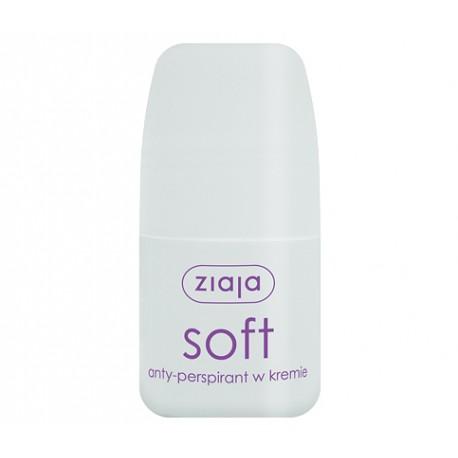Ziaja Soft - antyperspirant w kremie, poj. 60 ml