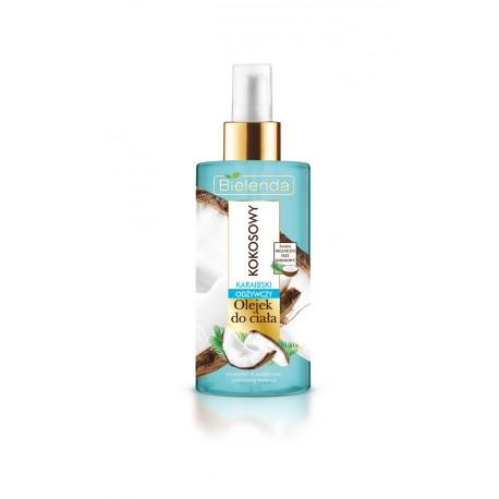 Bielenda KOKOSOWY - tropikalny olejek do ciała – odżywczy KARAIBSKI, poj. 150 ml
