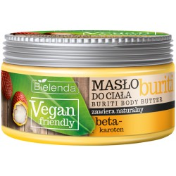 Bielenda VEGAN FRIENDLY - masło do ciała BURITI, poj. 250 ml