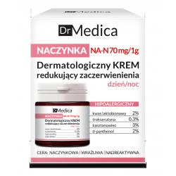 Dr Medica NACZYNKA - dermatologiczny krem redukujący zaczerwienienia HIPOALERGICZNY dzień/noc, poj. 50 ml