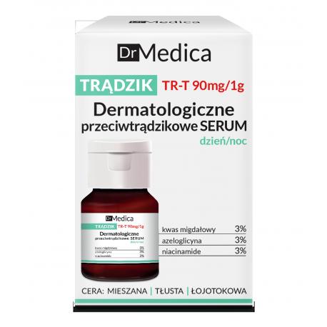 Dr Medica TRĄDZIK - dermatologiczne przeciwtrądzikowe serum dzień/noc, poj. 30 ml