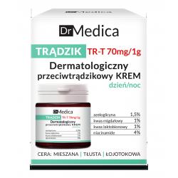 Dr Medica TRĄDZIK - dermatologiczny przeciwtrądzikowy krem dzień/noc, poj. 50 ml