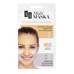 AA Multi Maska - oczyszczanie + nawilżanie, poj. 10 ml