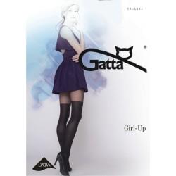 Girl-up w.32 - rajstopy wzorzyste