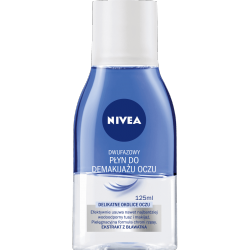 Nivea - dwufazowy płyn do demakijażu oczu, poj. 125 ml