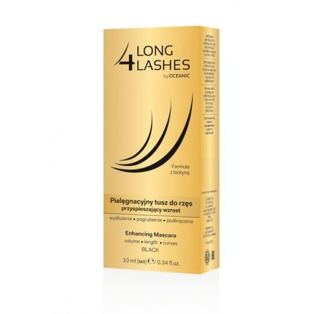 LONG4LASHES - pielęgnacyjny tusz do rzęs/ enhancing mascara, poj. 10 ml