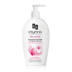 AA Intymna - DELICATE, kremowa emulsja do higieny intymnej, poj. 300 ml
