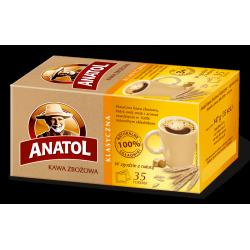 Anatol - klasyczna ekspresowa kawa zbożowa, poj. 35 saszetek