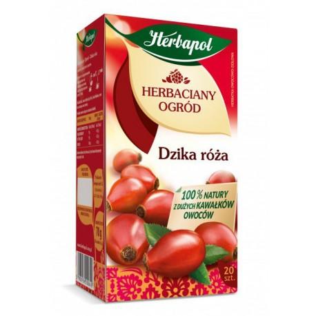 Herbaciany Ogród, Dzika róża - herbatka owocowo-ziołowa, poj. 80 g (20 saszetek x 4 g)