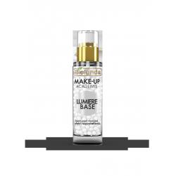 Bielenda MAKE-UP ACADEMIE LUMIERE BASE - perłowa baza pod makijaż, efekt rozświetlenia, poj. 30 g