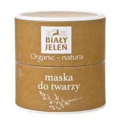 Biały Jeleń Organic-Natura - maska do twarzy, poj. 60 ml