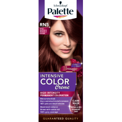 Palette Intensive Color Creme - krem koloryzujący, RN5 Brąz Marsala (Brouge Collection)