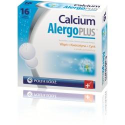 Calcium Alergo Plus - tabletki musujące, poj. 16 szt.