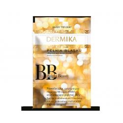 Dermika Maseczki Piękności - Pełnia Blasku, upiększająca maseczka BB BRIGHT BEAUTY, poj. 3 x 2 ml