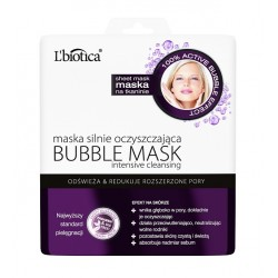Bubble Mask - maska silnie oczyszczająca, poj. 23 ml (w postaci nasączonej tkaniny)