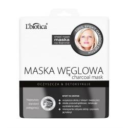 Maska Węglowa, poj. 23 ml (w postaci nasączonej tkaniny)