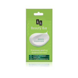 AA BEAUTY BAR - kremowy peeling drobnoziarnisty, poj. 8 ml