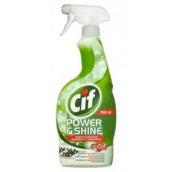 Cif - Power & Shine Przeciw Tłuszczowi, spray do czyszczenia, poj. 750 ml