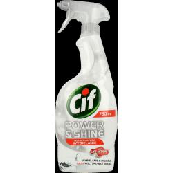 Cif - Power & Shine Wybielanie, spray wybielający, poj. 750 ml