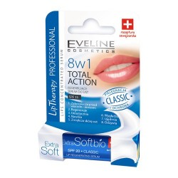 Eveline Lip Therapy Professional - 8w1 Total Action, Classic, regenerujące serum do ust, poj. 0,2 g
