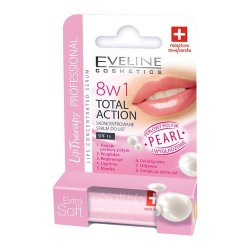 Eveline Lip Therapy Professional - 8w1 Total Action, Pearl, skoncentrowane serum do ust, poj. 0,2 g