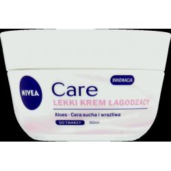 Nivea Care - lekki krem łagodzący, poj. 50 ml