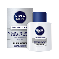 Nivea Men Silver Protect - Skin Protection balsam po goleniu, poj. 100 ml