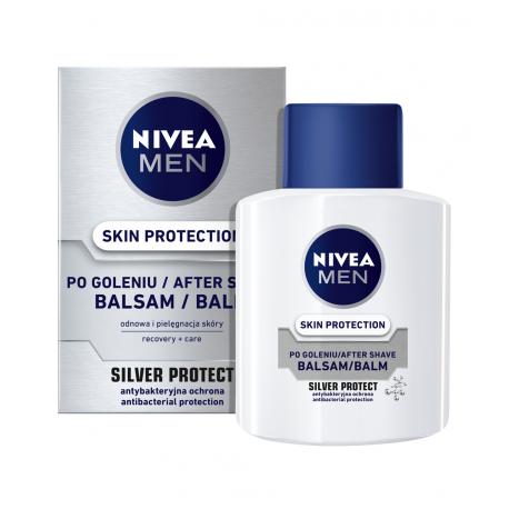 Nivea Men Silver Protect - Skin Protection balsam po goleniu, poj. 100 ml