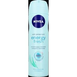 NIVEA Energy Fresh 48 h - antyperspirant w aerozolu dla kobiet, trawa cytrynowa, poj. 150 ml