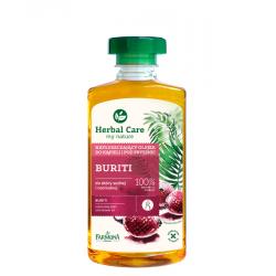 HERBAL CARE - Natłuszczający olejek do kąpieli Buriti do skóry suchej i normalnej, poj. 330 ml